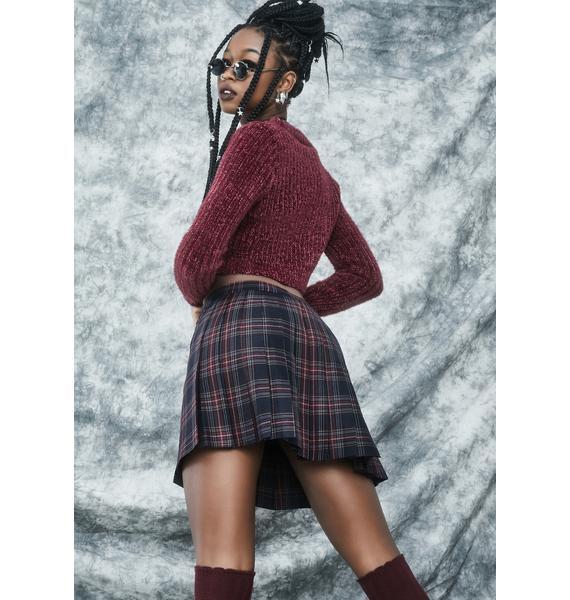 dELiA*s by Dolls Kill Ties That Bind Wrap Skirt
