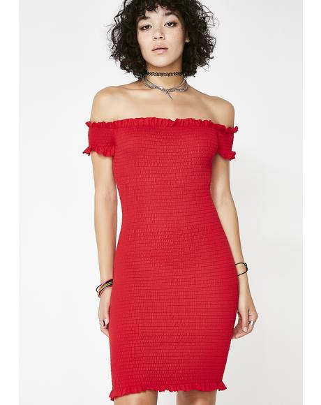 Hot In Hurr Bodycon Dress