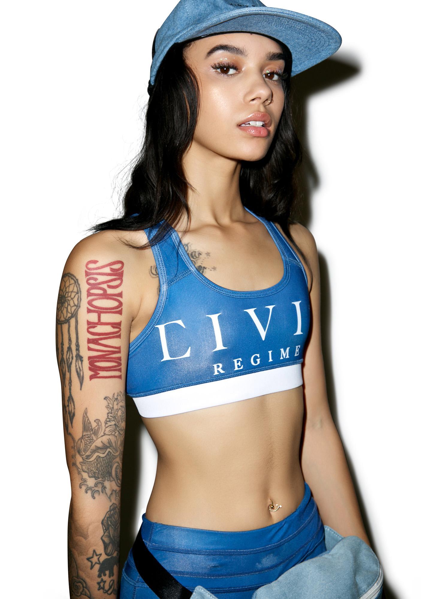 Civil Clothing Civil Regime Sports Bra