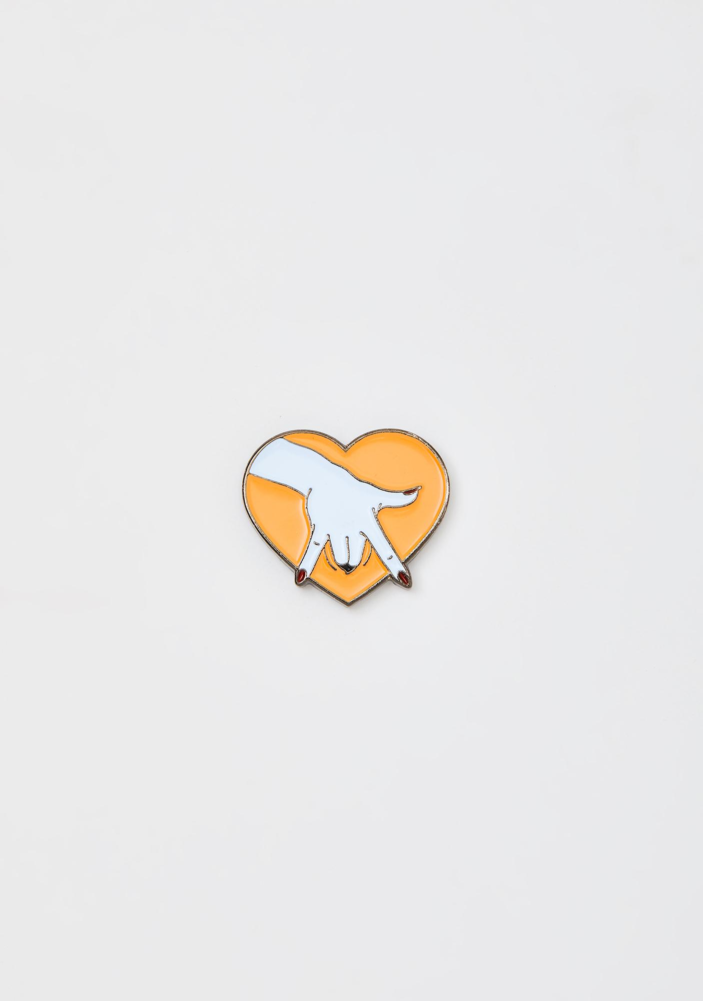 Eromatica We Fit Together Enamel Pin