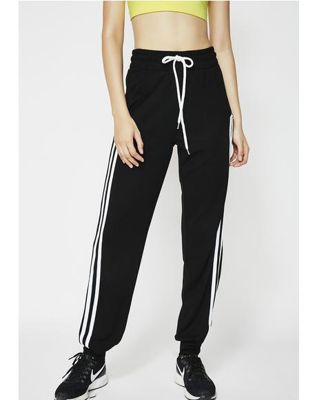 Game Changer Striped Sweatpants