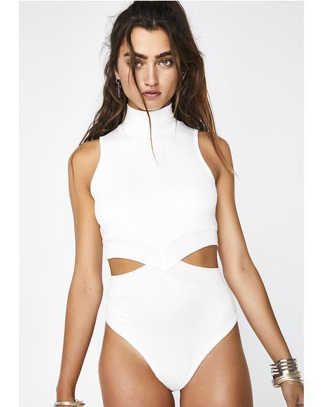 Euphonic Tonic Cutout Bodysuit