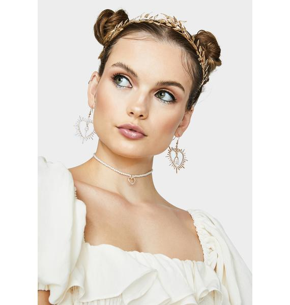 Key To Romance Drop Earrings