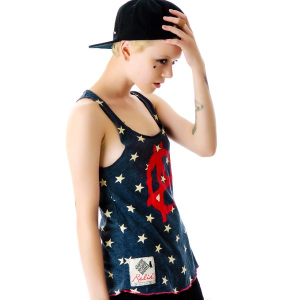Anarchy Star Racerback Tank