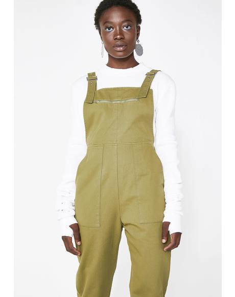 Follow Wanderlust Overall Jumpsuit