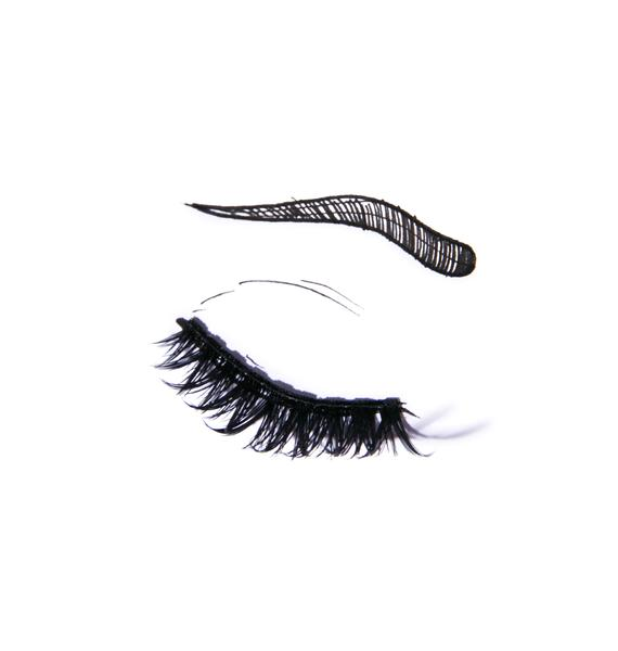 Crown Moiety Woodwinked False Eyelashes