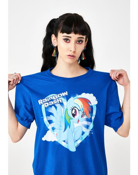 Rainbow Dash Graphic Tee