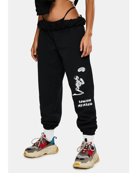 Losing It Graphic Sweatpants