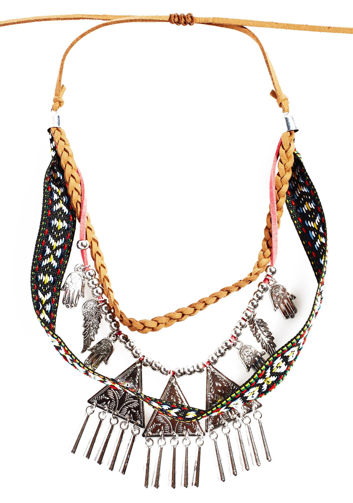 marcella tiered necklace modern kona necklaces shop design