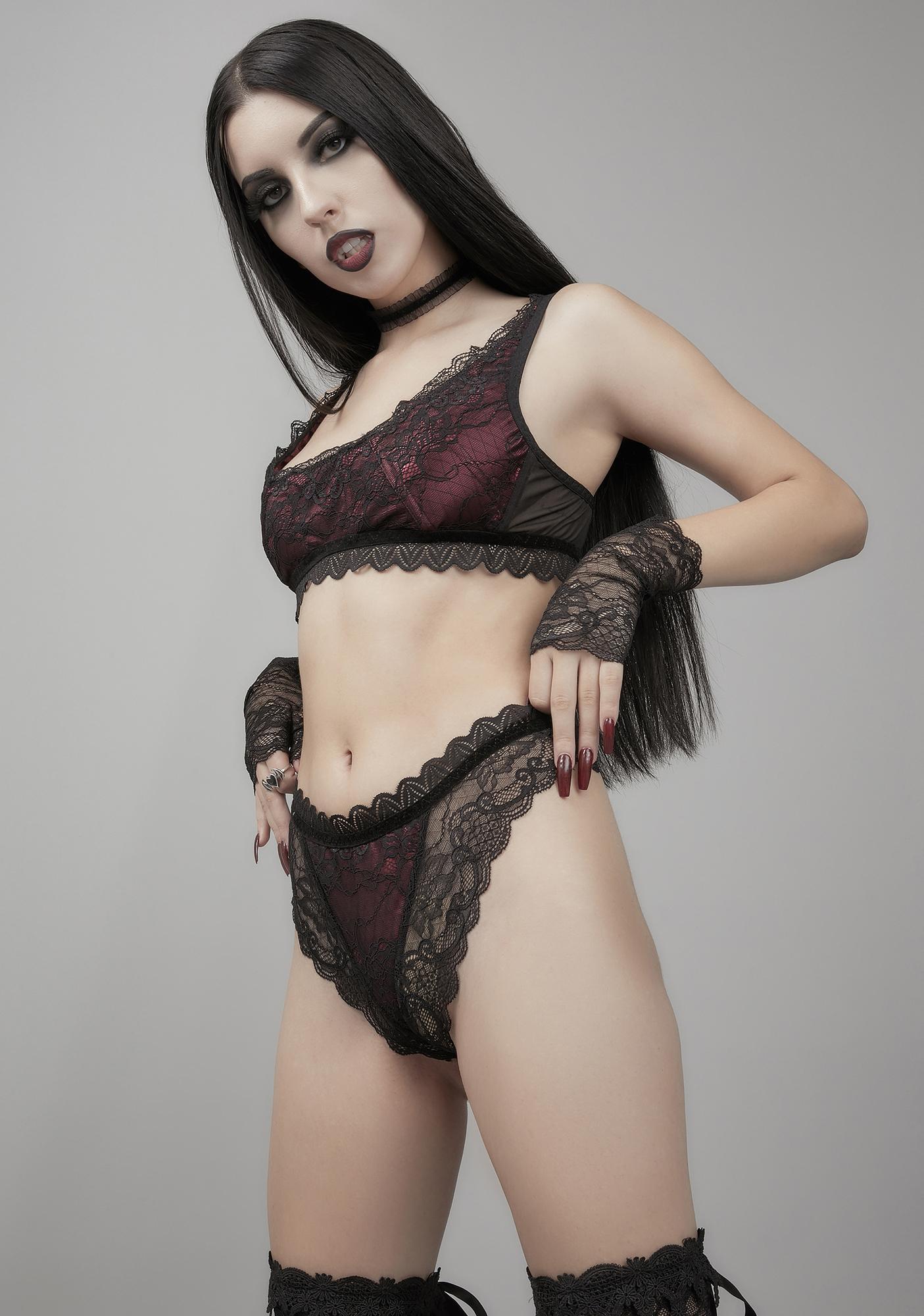 Widow Carpe Noctem Lace Panties