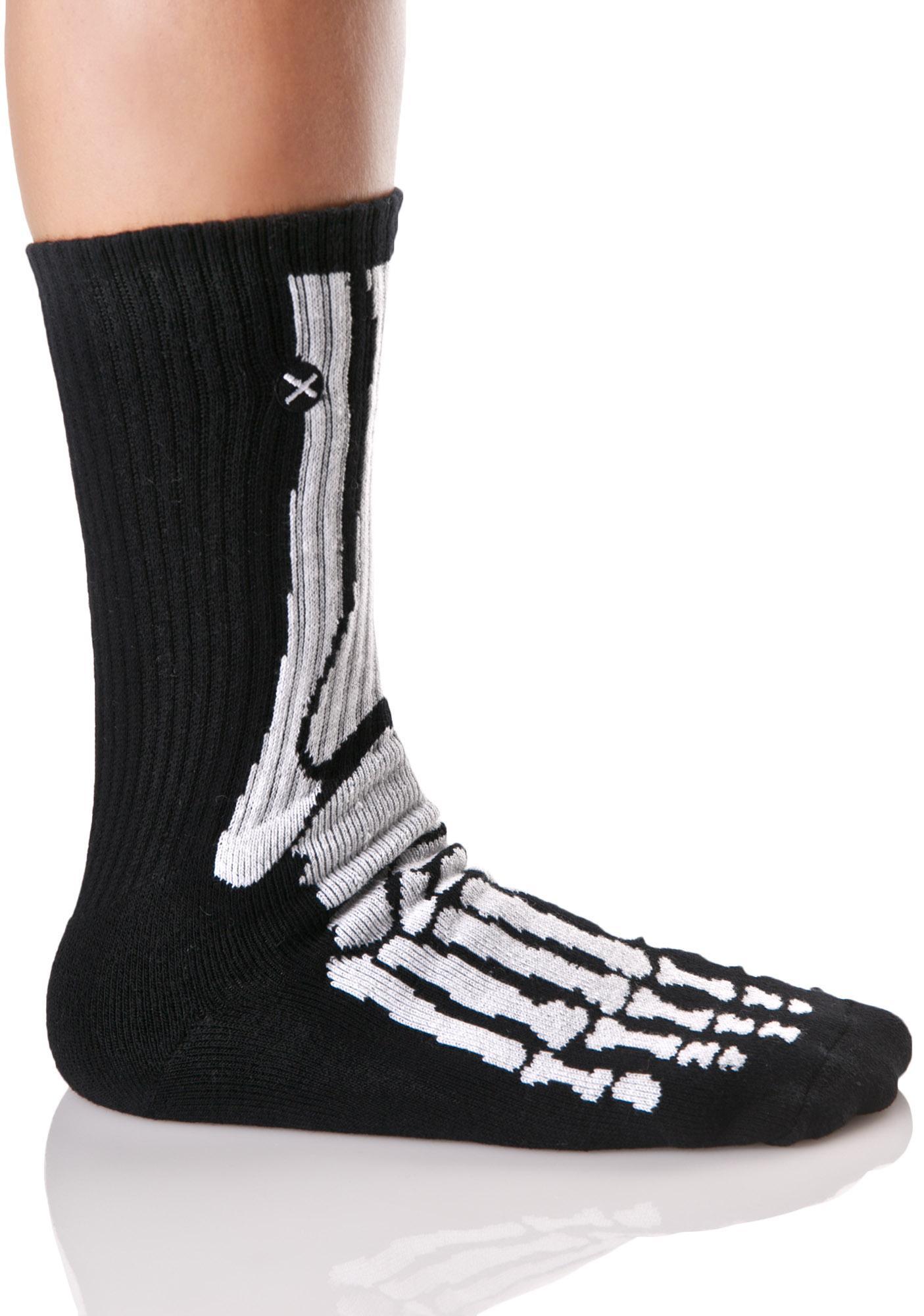 Odd Sox Skeleton Socks