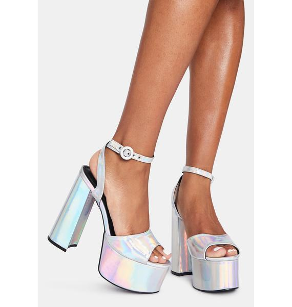 Space Angel Platform Heels
