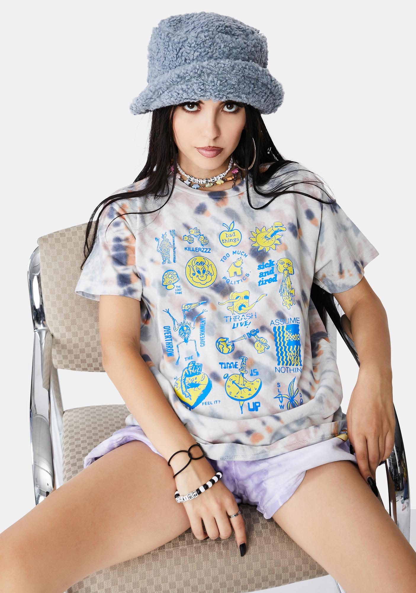 Obey Thrash! Live Graphic Tee