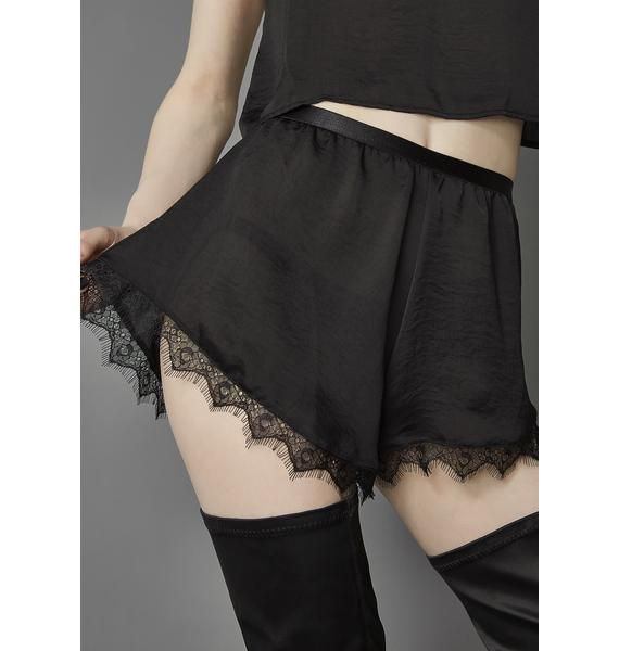 Widow Another Mourning Tap Shorts