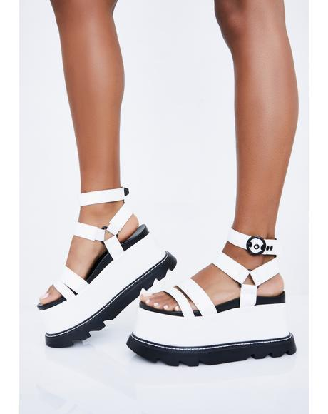 Pure Keep Smiling BB Platform Sandals