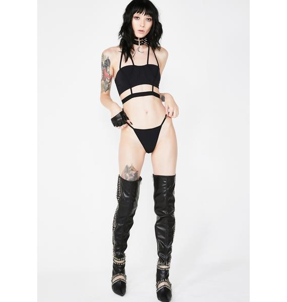 Tangled Up Strappy Set