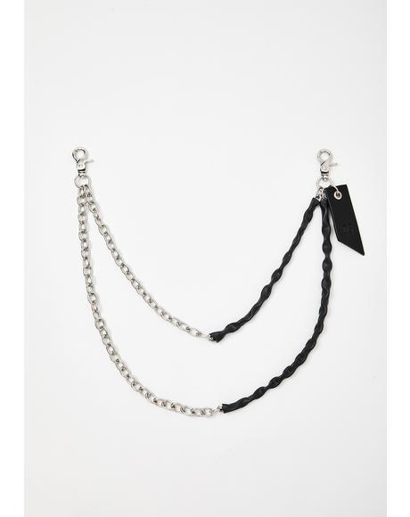 Bonded Double Belt Chain