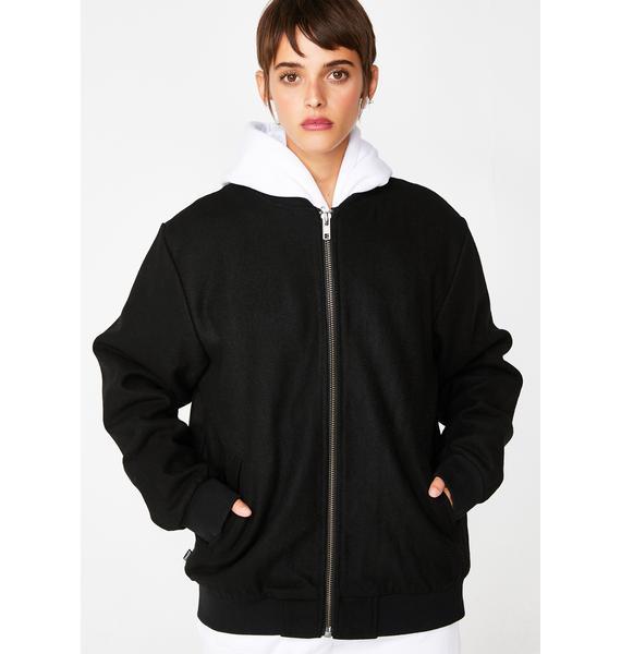 RIPNDIP Wavy Nerm Varsity Jacket