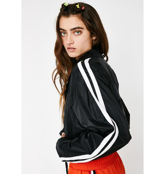 Challenge Accepted Cropped Jacket