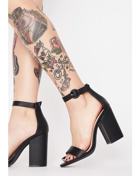 Sinister Royal Darling Block Heels
