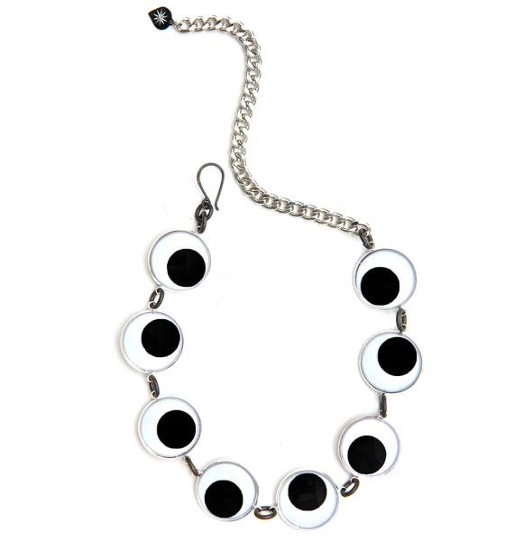Vittrock Googly Eye Adjustable Choker