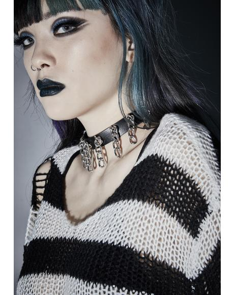 Turn Of The Screw Chain Choker