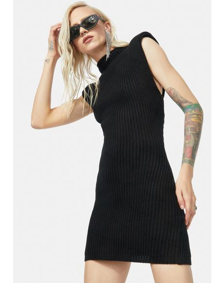 Do This Forever Knit Sweater Mini Dress