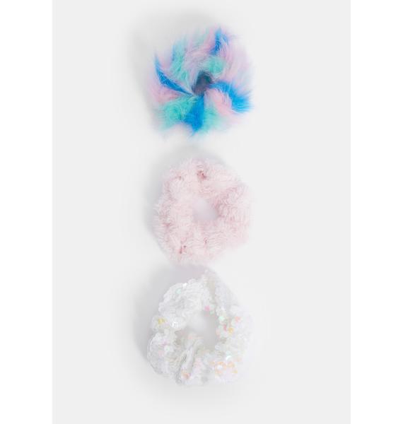 Hair in the Clouds Scrunchie