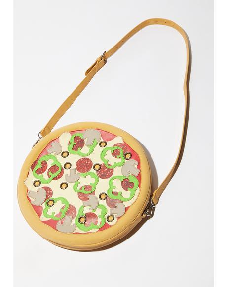 Oven Baked Pizza Crossbody Bag