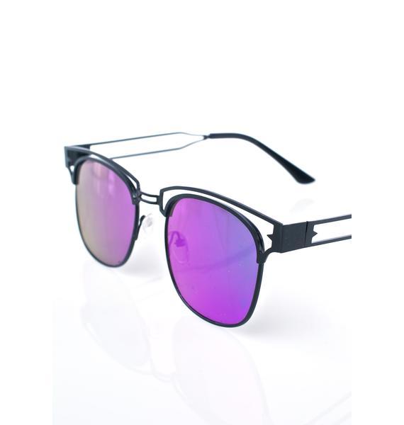 YHF Onyx Bite Me Sunglasses