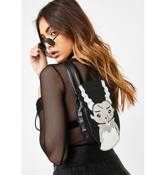 Mrs. Frankenstein Crossbody Bag