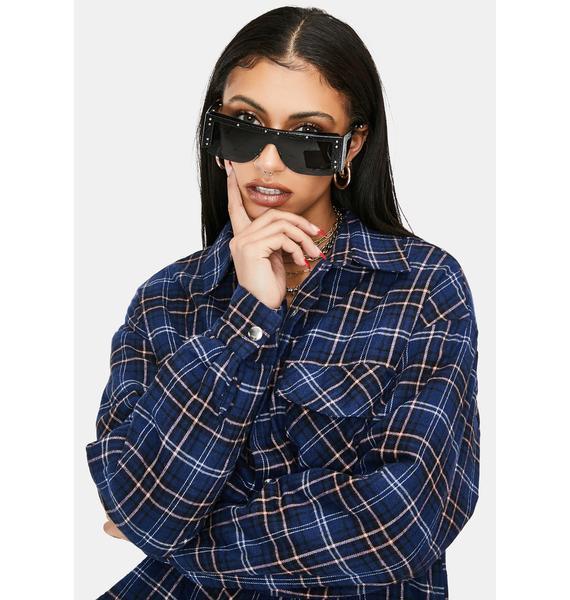 Luna Dynamite Bright Shield Sunglasses