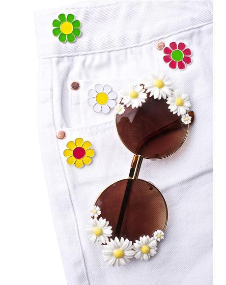Flower Pin Set