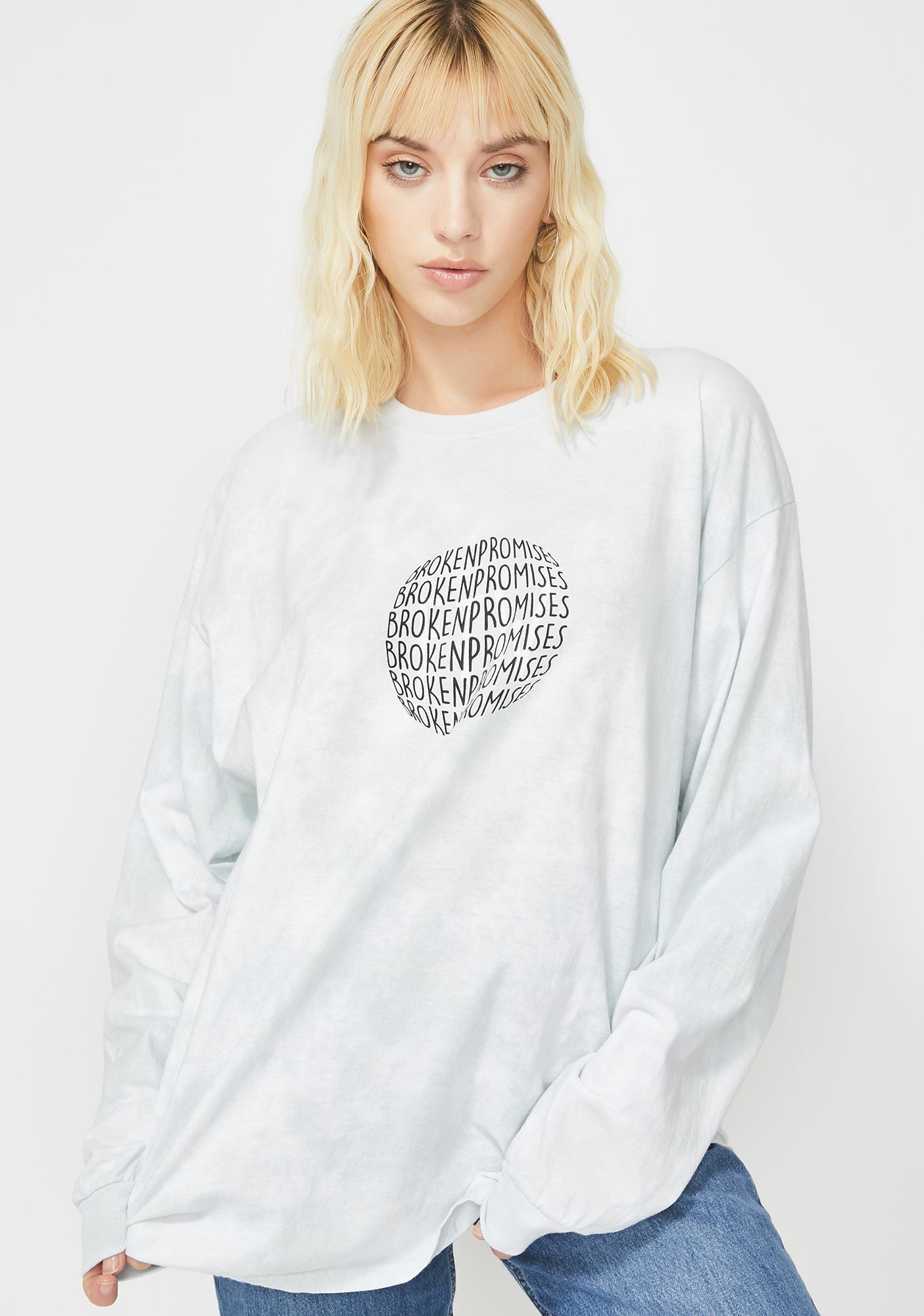 BROKEN PROMISES CO For The Moment Graphic Top