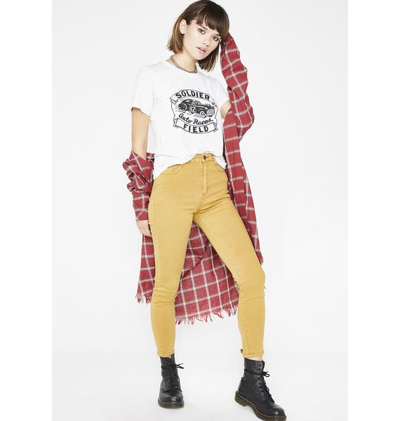 Momokrom High Rise Skinny Jeans