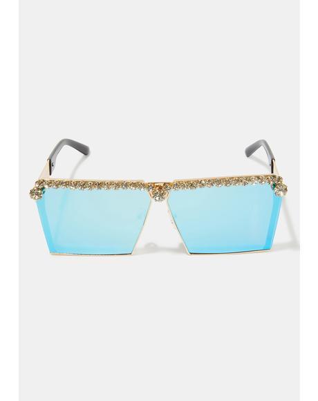 Bling The Alarm Sunglasses