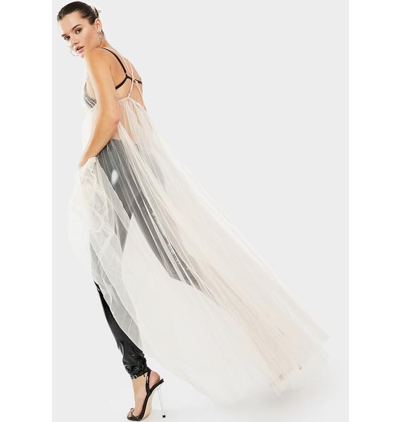 Kiki Riki Like A Goddess Sheer Maxi Dress