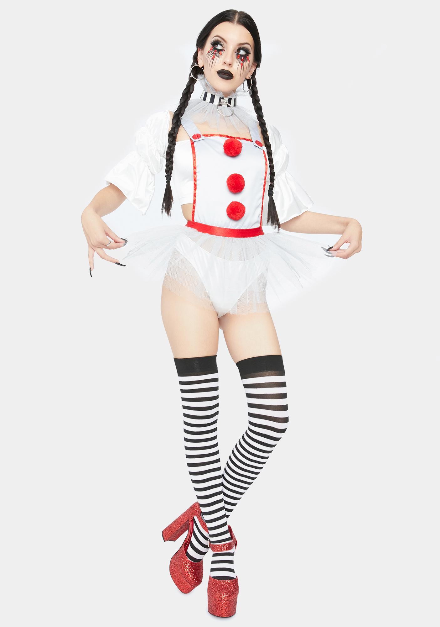 Trickz N' Treatz Fear Hungry Clown Costume
