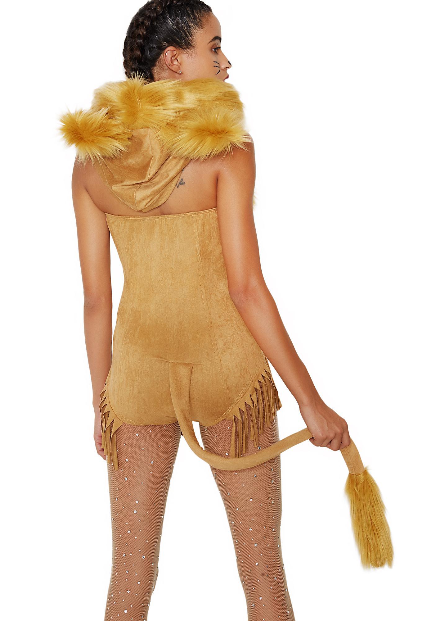 Ferocious Lion Costume