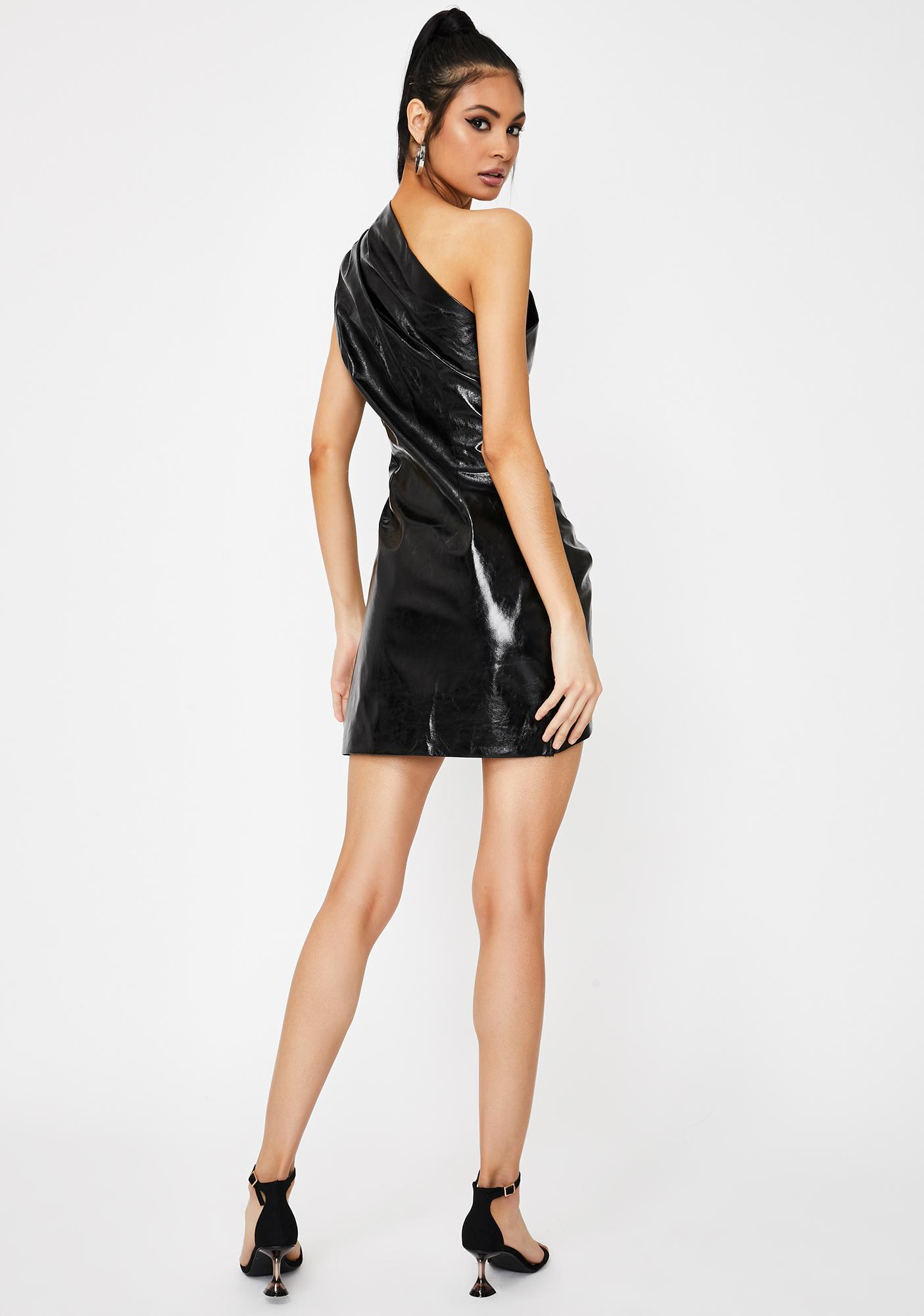 Lioness Black Life Of The Party Mini Dress