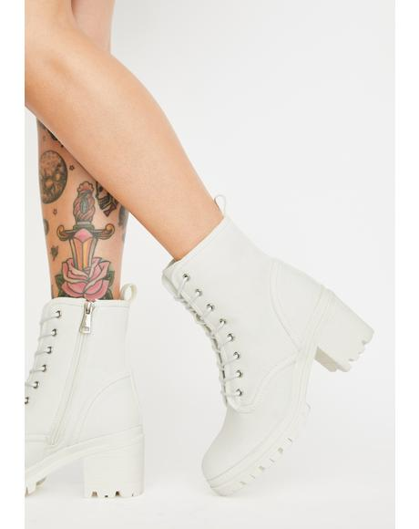 Insane Ecstasy Ankle Boots