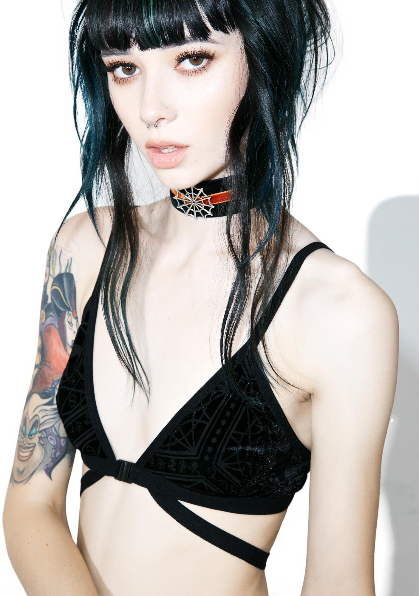 Killstar Just Like Nico Bralette
