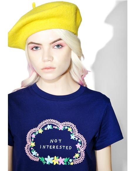 Not Interested Tee