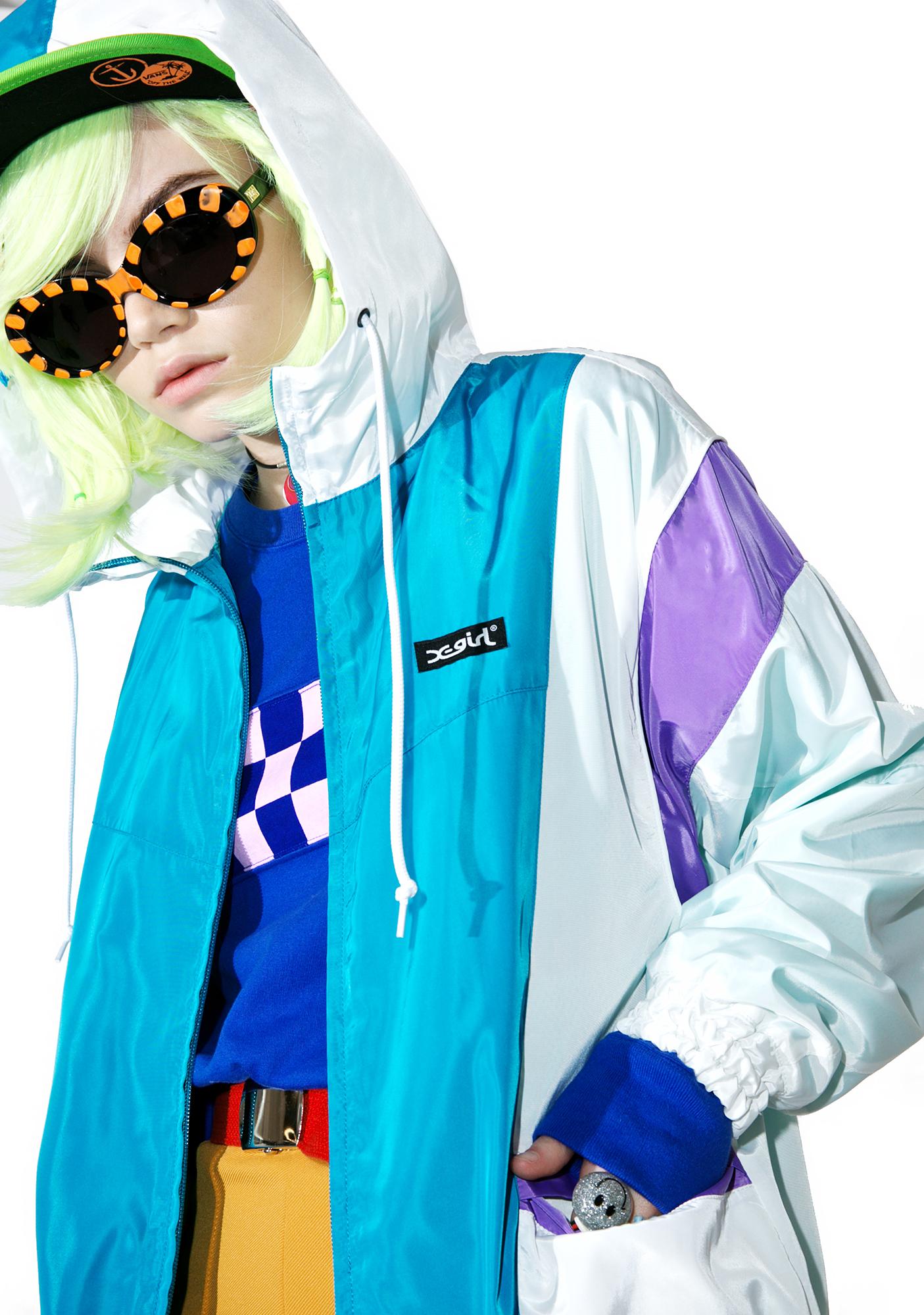 x-Girl Hooded Panel Jacket