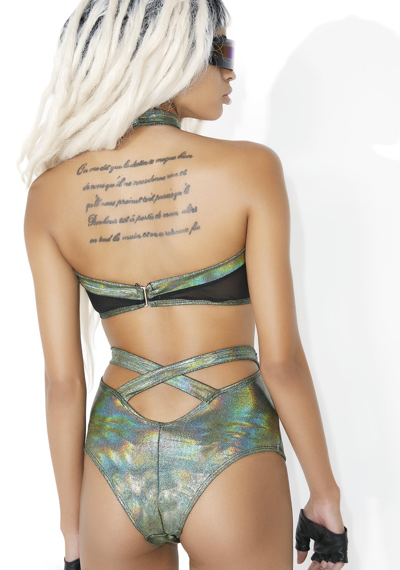 Envy Andromeda Cutout Bodysuit