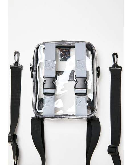Shine Too Bright Clear Backpack