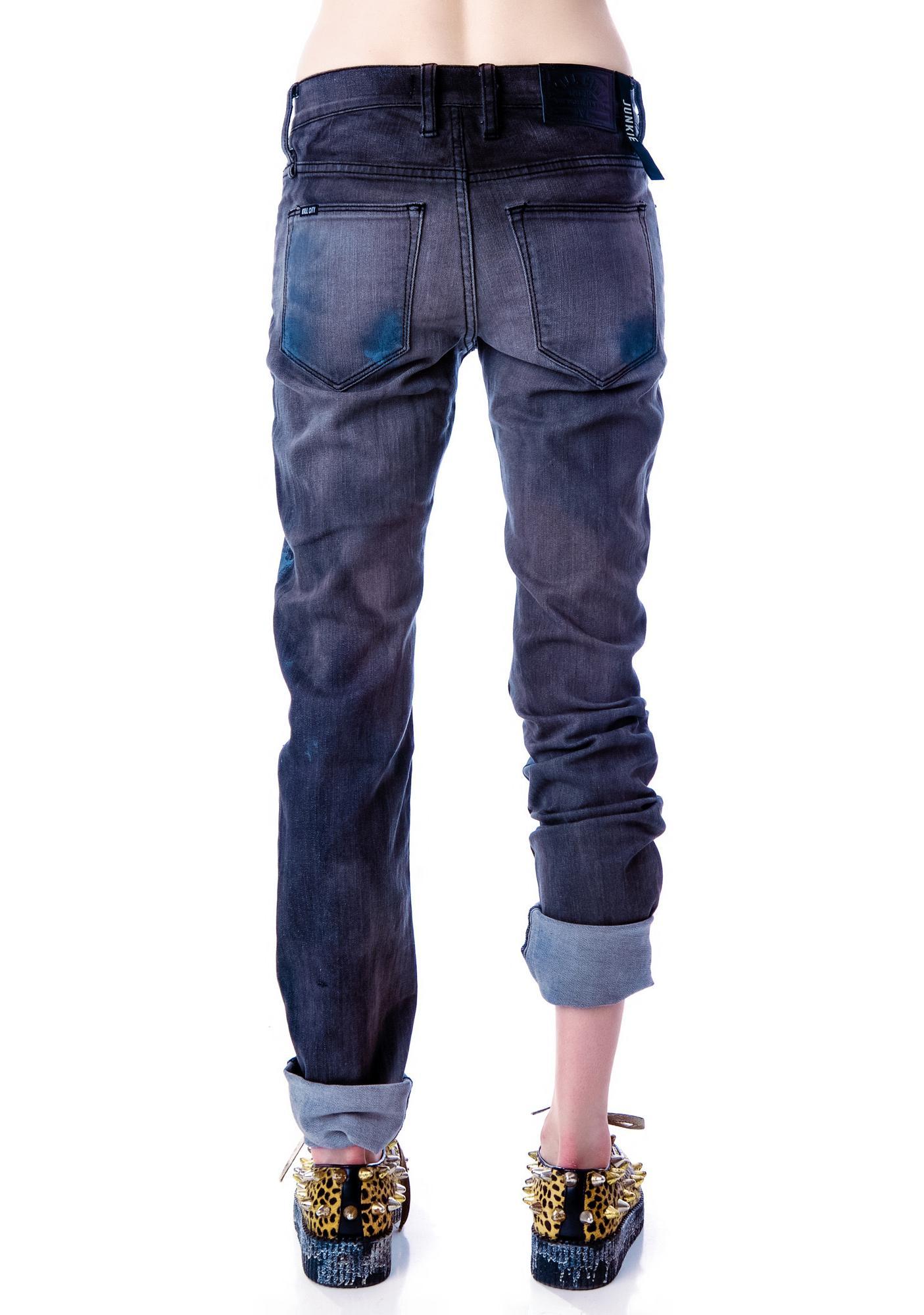 Kill City Paint Stain Junkie Jeans