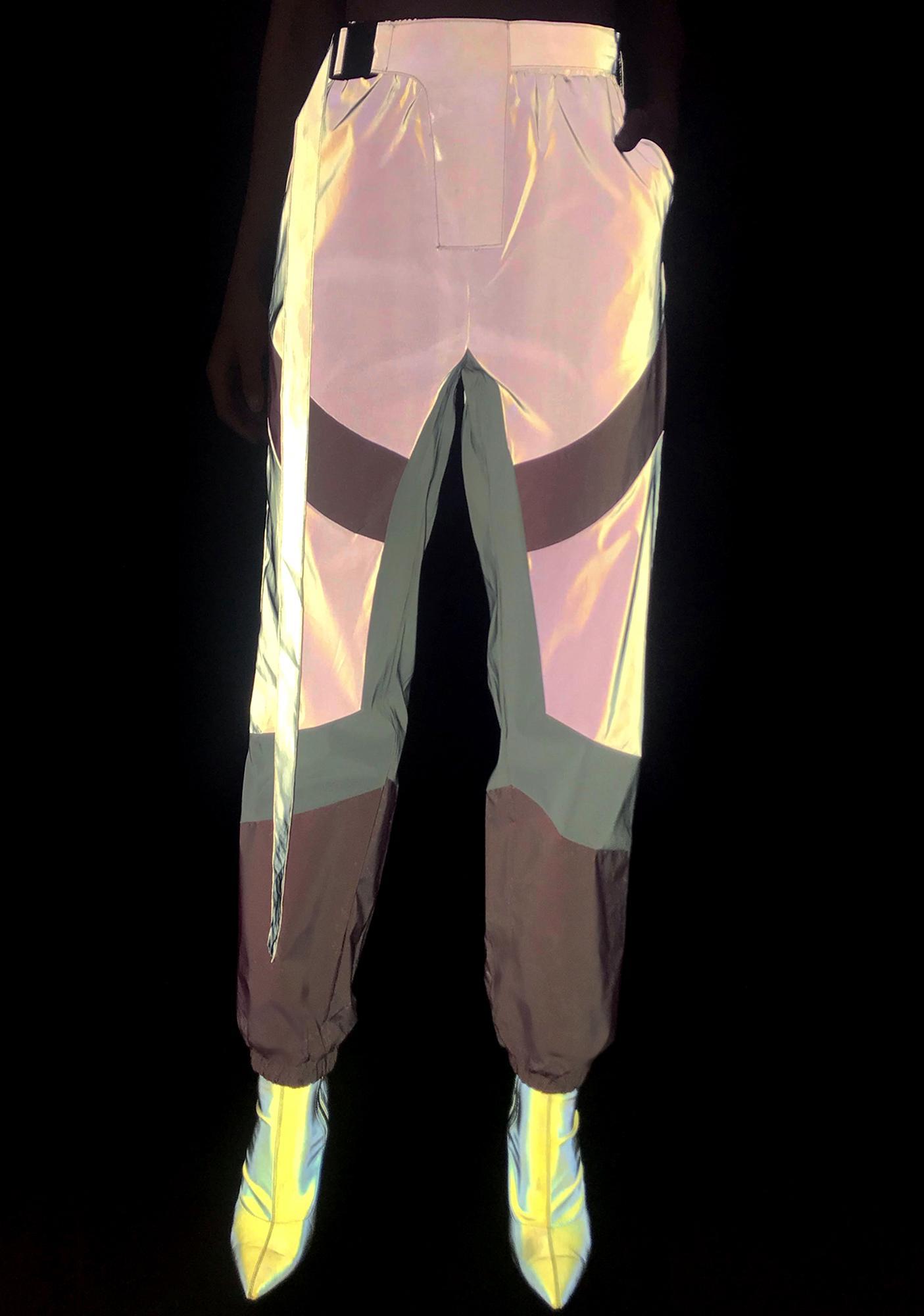 Glowin' Up Reflective Pants
