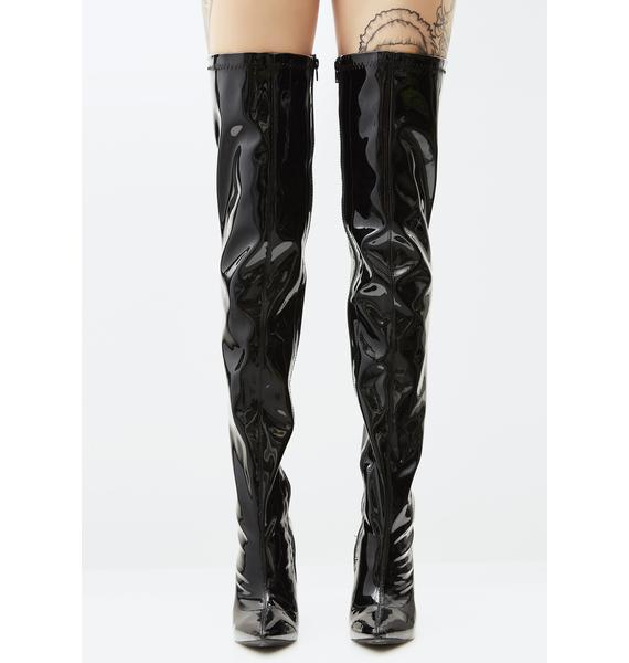 Double Tap Over The Knee Boots