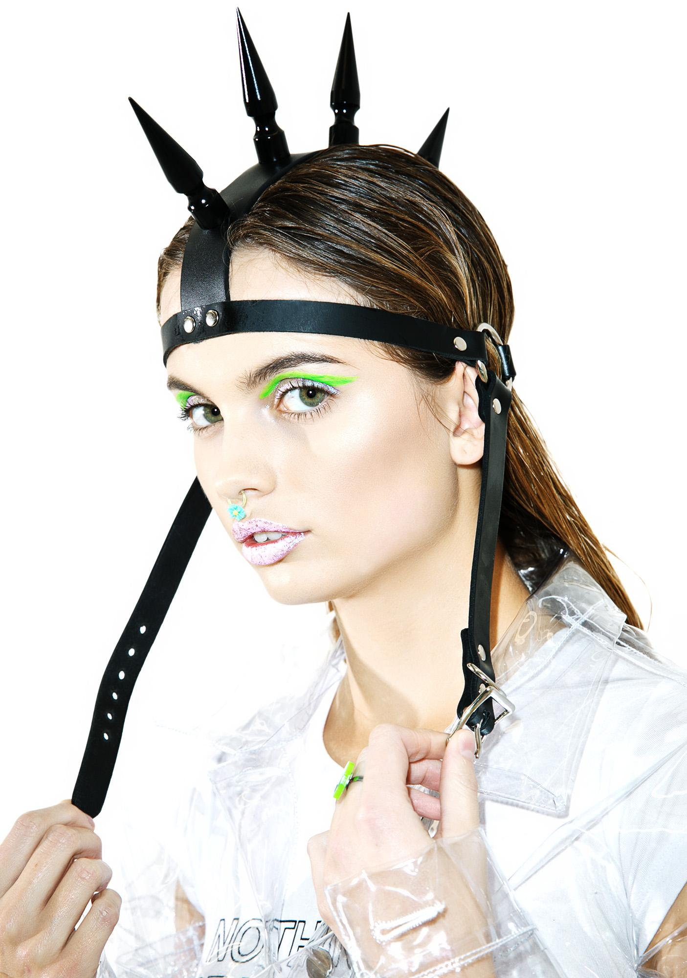 Manic Mohawk Headpiece